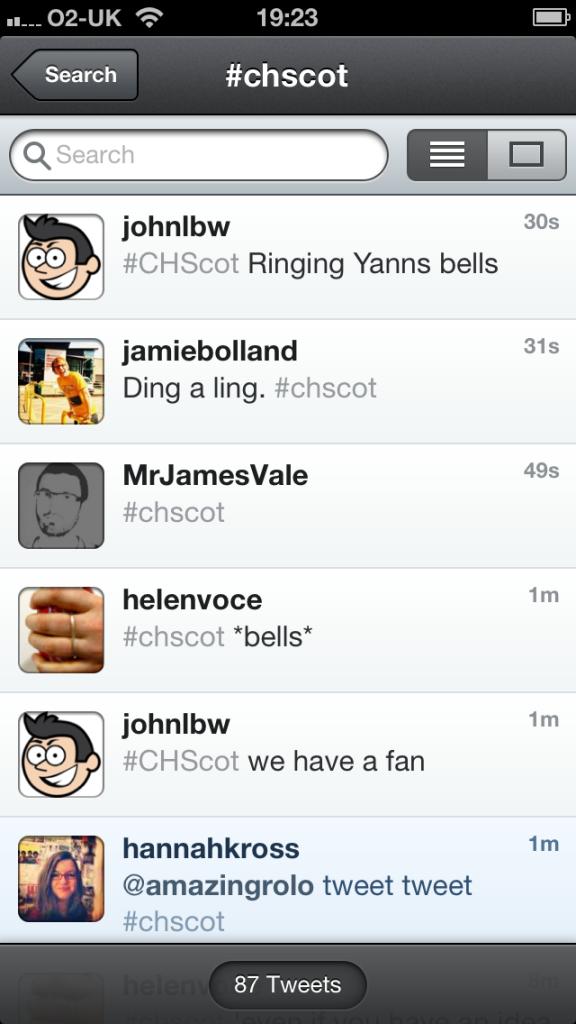 Twitter Bells