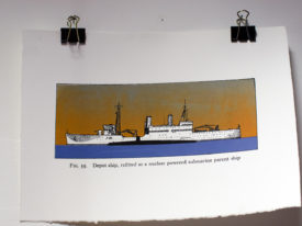 Depot Ship, large, colour