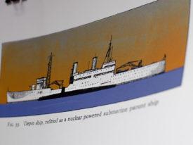 Depot Ship, large, colour